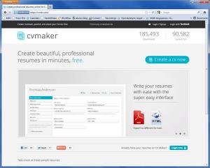 Free CV Maker